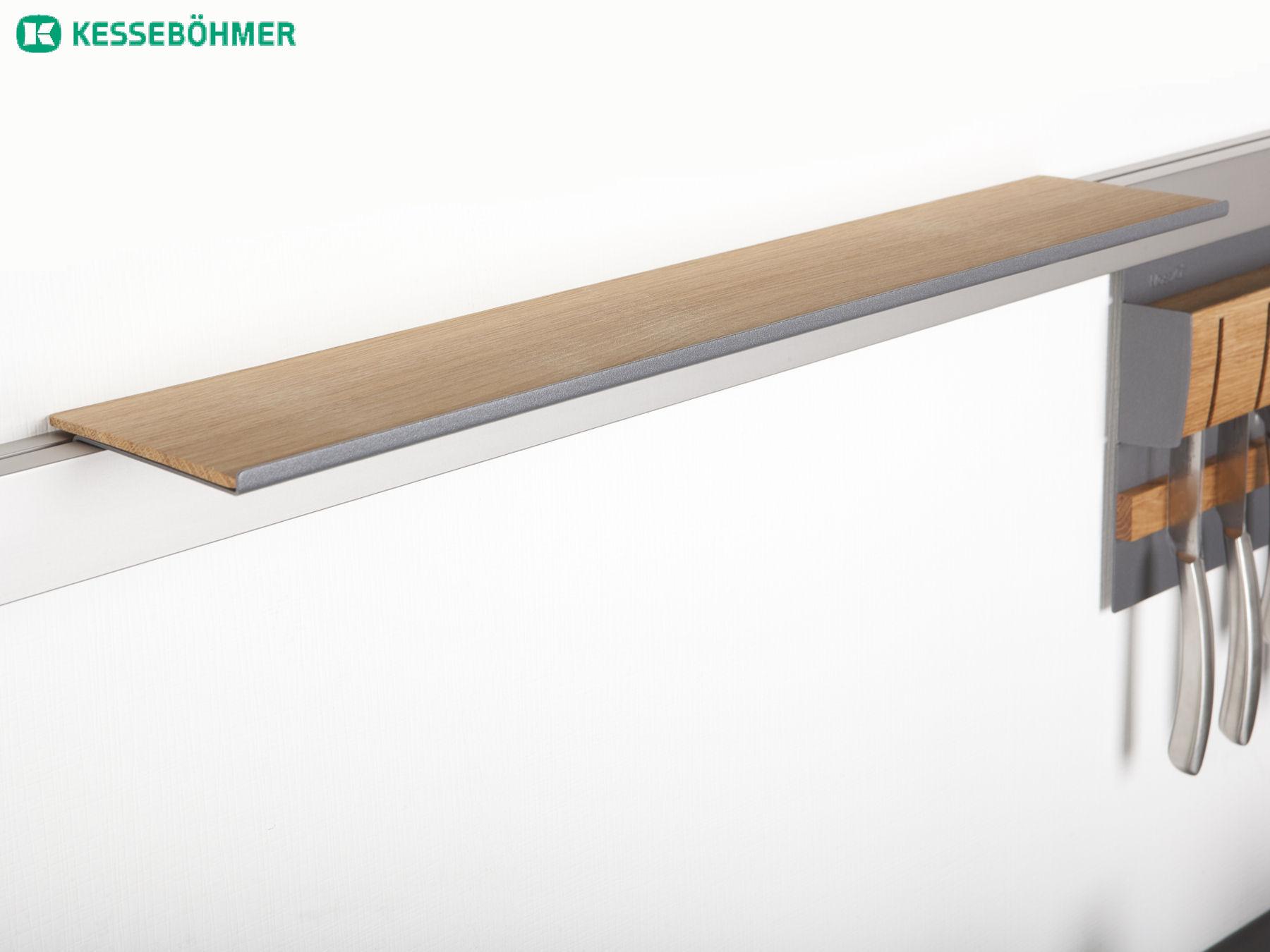Relingsystem Kuche Holz Kreative Deko Ideen und