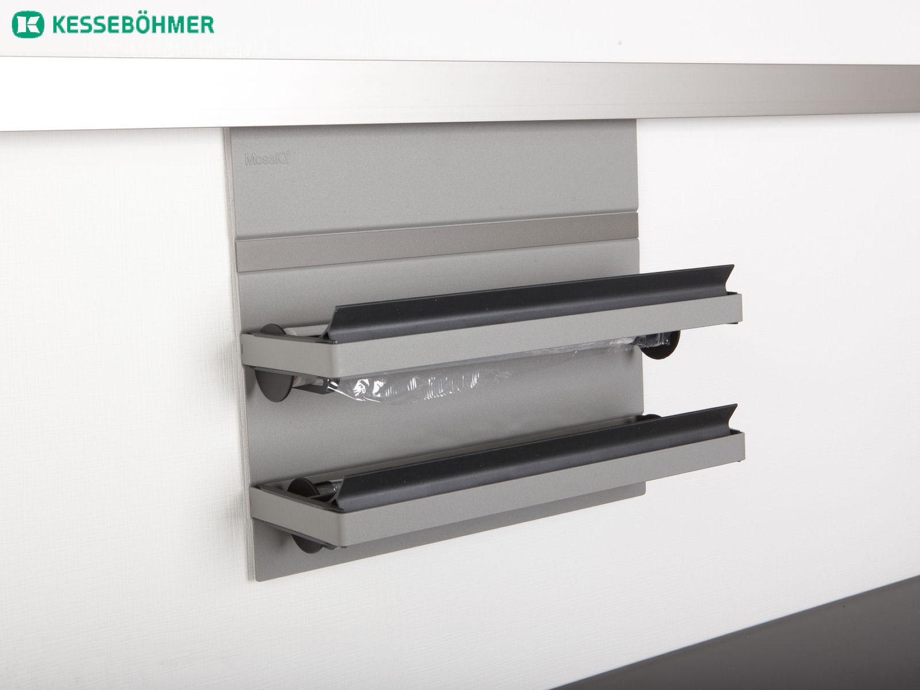 kesseb hmer linero mosaiq 600 1800 mm titangrau relingsystem k chenreling ebay. Black Bedroom Furniture Sets. Home Design Ideas