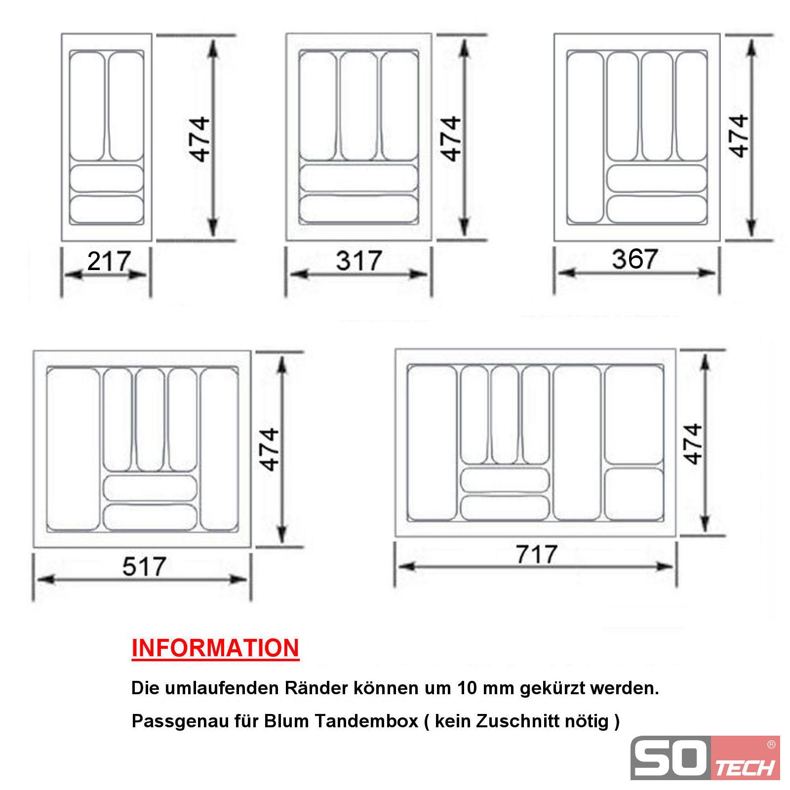 orga box besteckeinsatz besteckkasten schubladeneinsatz. Black Bedroom Furniture Sets. Home Design Ideas