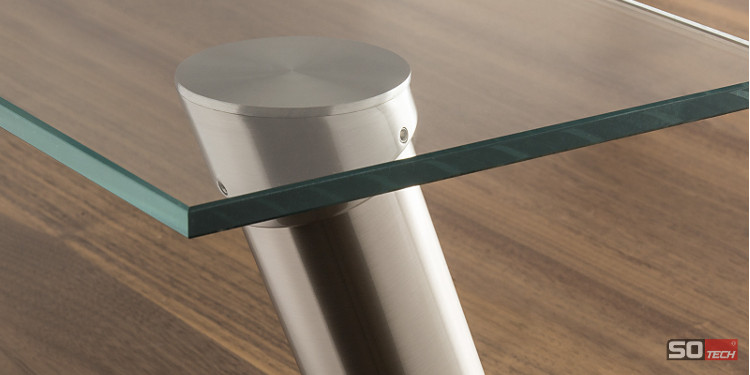 barkonsole glasplatte tische f r die k che. Black Bedroom Furniture Sets. Home Design Ideas