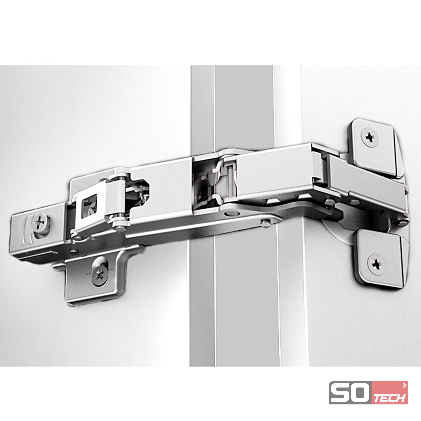 so-tech® invo plus weitwinkel 165? topfband topfscharnier t45-t52