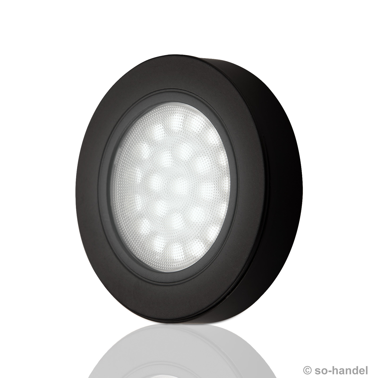 led leuchte oval led spot aufbaulampe aufbauleuchte schrankleuchte schranklampe ebay. Black Bedroom Furniture Sets. Home Design Ideas