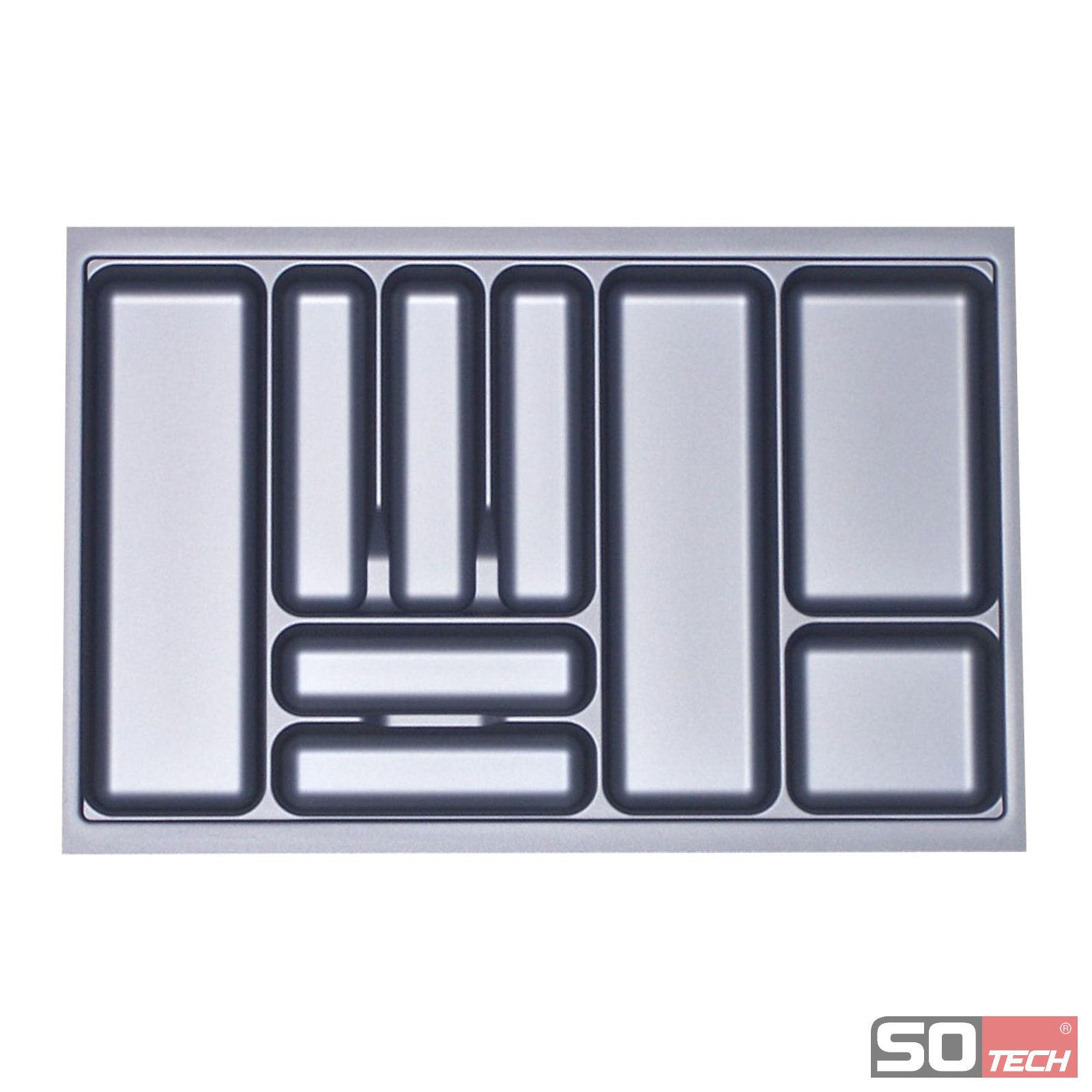 besteckeinsatz orga box f r 80cm schublade besteckteiler besteckkasten einsatz ebay. Black Bedroom Furniture Sets. Home Design Ideas