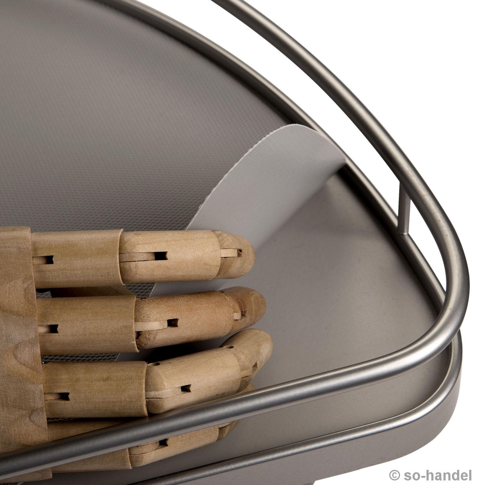 Antirutschmatte Schutzmatte Silbergrau für Kesseböhmer LeMans