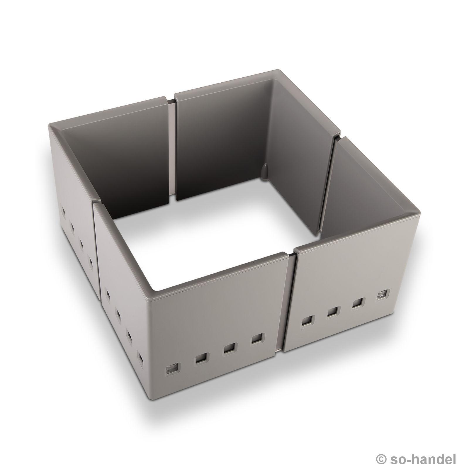 orga box iv universal besteckeinsatz f r 60 cm schubladenbreite besteckkasten ebay. Black Bedroom Furniture Sets. Home Design Ideas