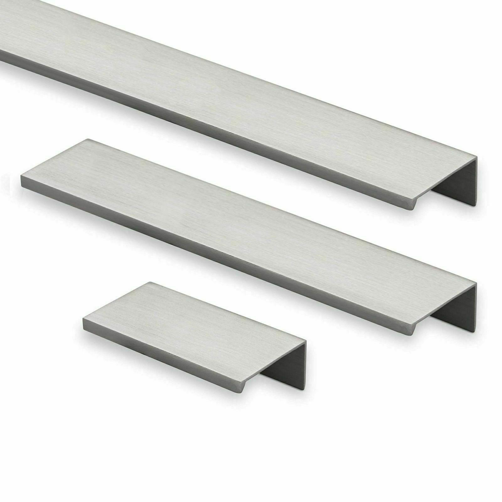 Häfele Möbelgriff Aluminium Griffleiste Kantengriff Griffmulde Schubladengriff
