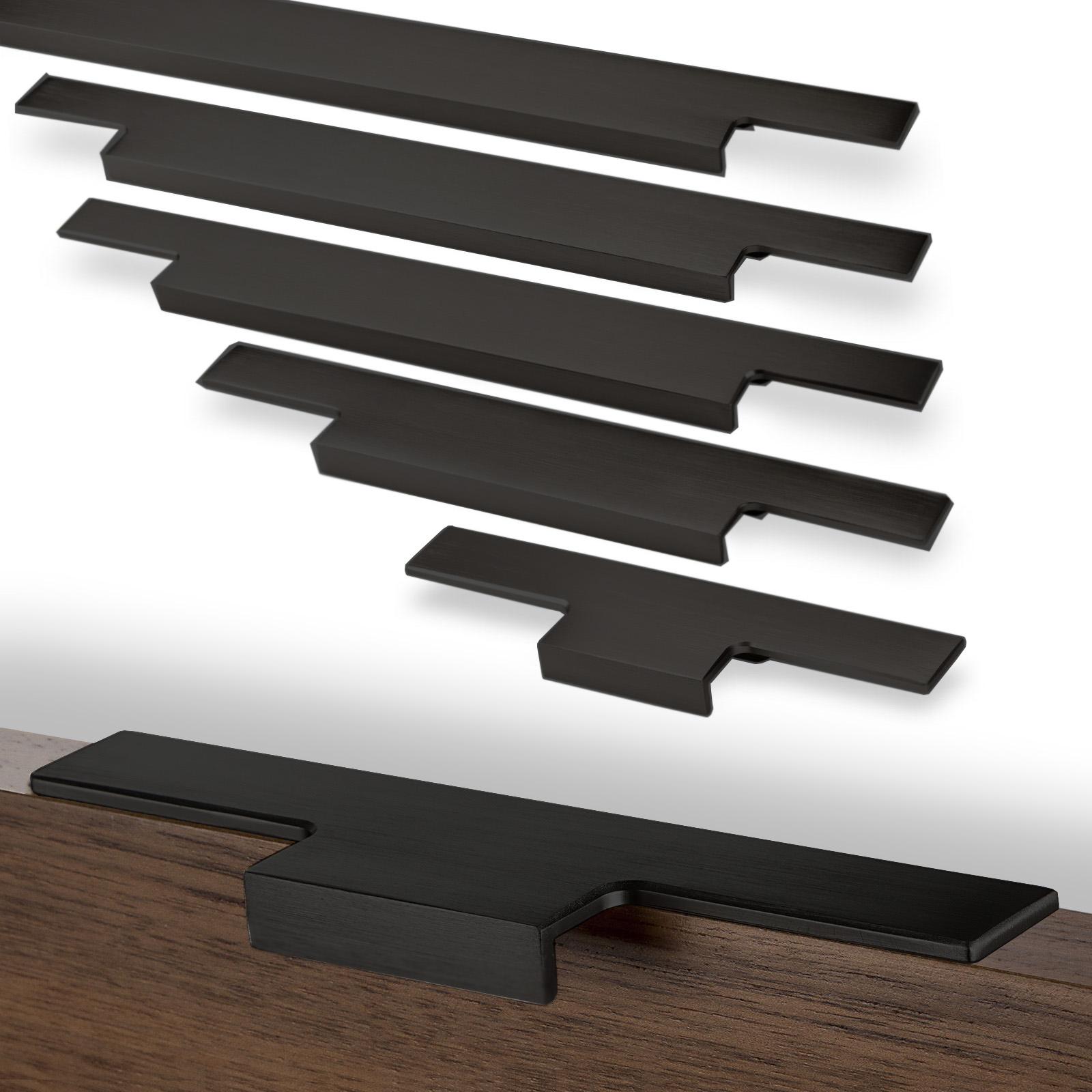 sch co alu competence m belgriff slim schubladengriff griffleiste griff ebay. Black Bedroom Furniture Sets. Home Design Ideas