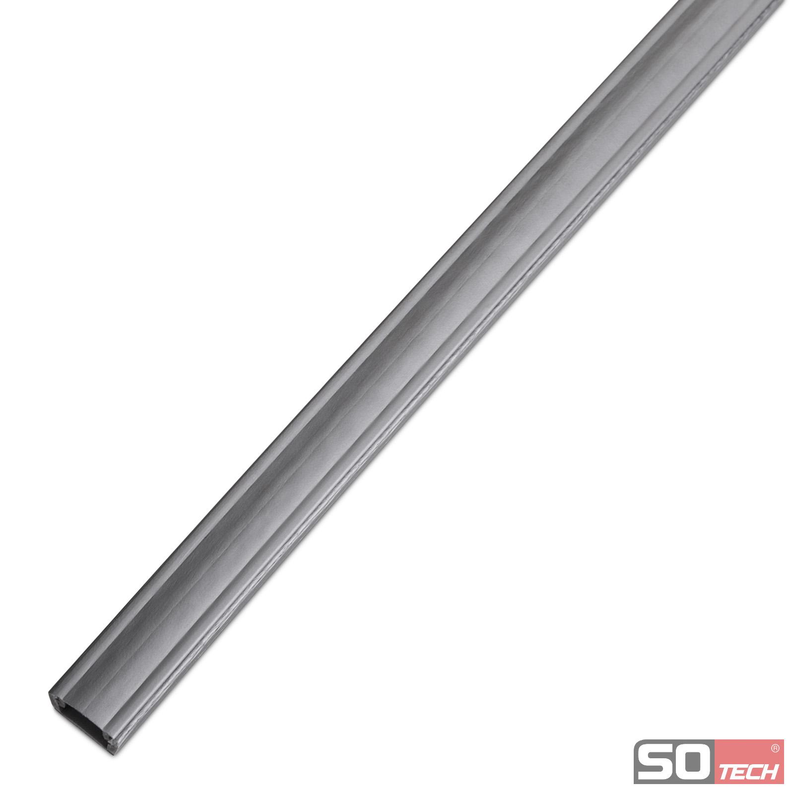 2 St/ück SO-TECH/® Kunststoff Kabeldurchf/ührung Kabeldurchlass /Ø 60 mm hellgrau