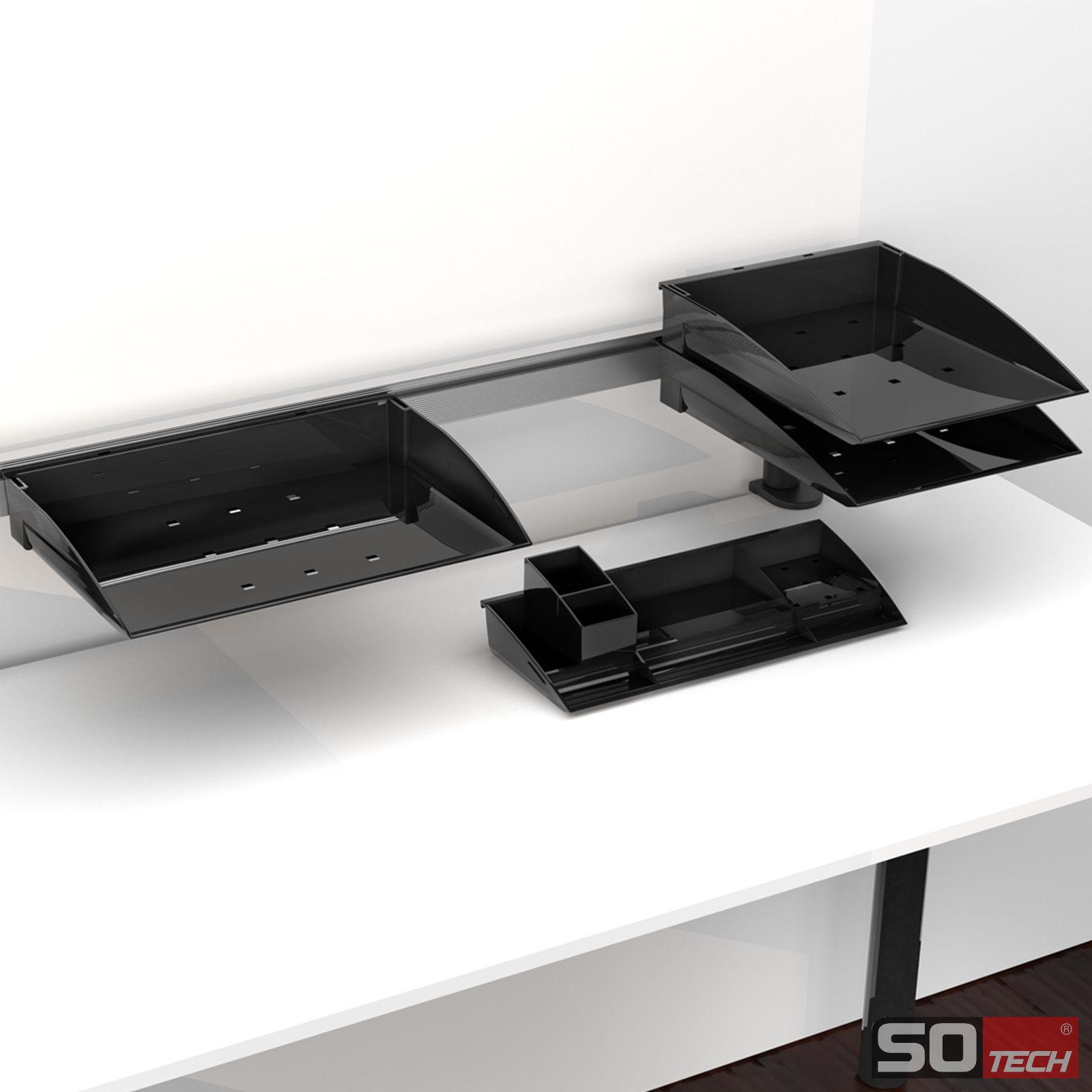 so tech schreibutensilienfach schubladeneinsatz f r schreibwaren stiftebox ebay. Black Bedroom Furniture Sets. Home Design Ideas