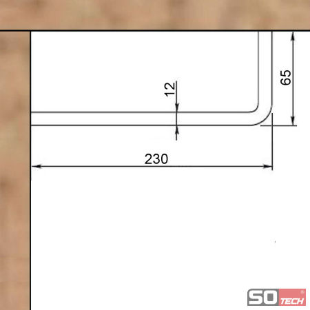 so tech garderobenstange norma l form edelstahl b gelhalter kleiderstange ebay. Black Bedroom Furniture Sets. Home Design Ideas