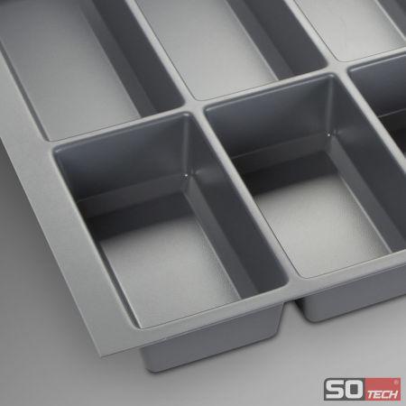 orga box iii besteckeinsatz 90 cm schubladeneinsatz u a f r nobilia ab 2013 ebay. Black Bedroom Furniture Sets. Home Design Ideas