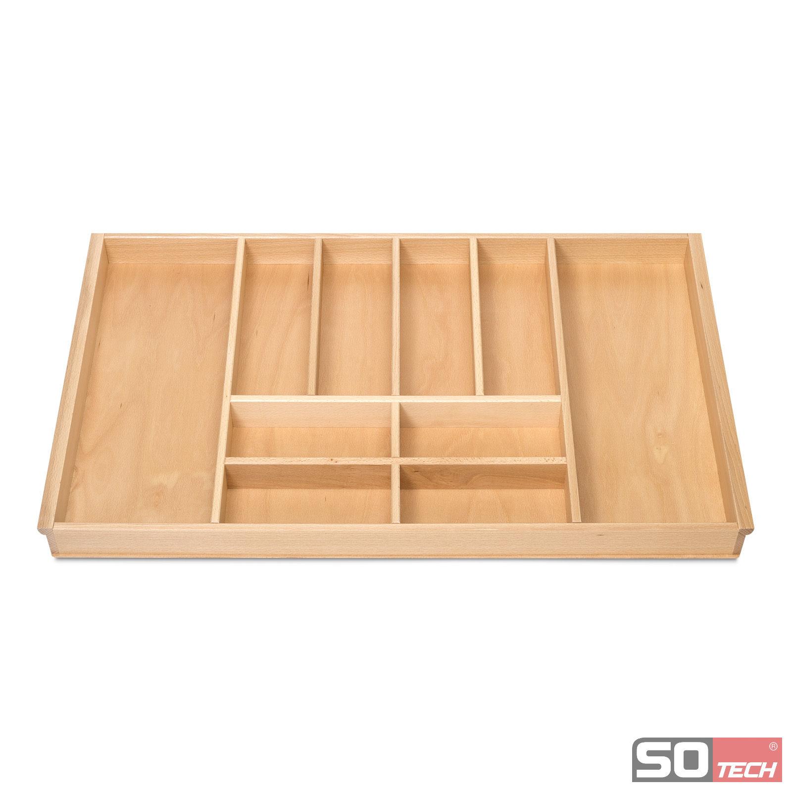 orga box iii holz besteckeinsatz 90 cm buche schubladeneinsatz u a f r nobilia ebay. Black Bedroom Furniture Sets. Home Design Ideas