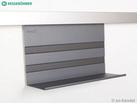Linero mosaiq universalablage 200 graphit schwarz for Kuchen profilleiste