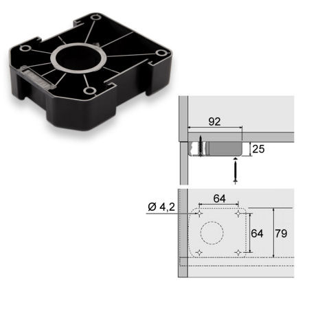 4stk k chenfu m belfu sockelfu stellfu 55 200 mm f r k che sockel blende ebay. Black Bedroom Furniture Sets. Home Design Ideas