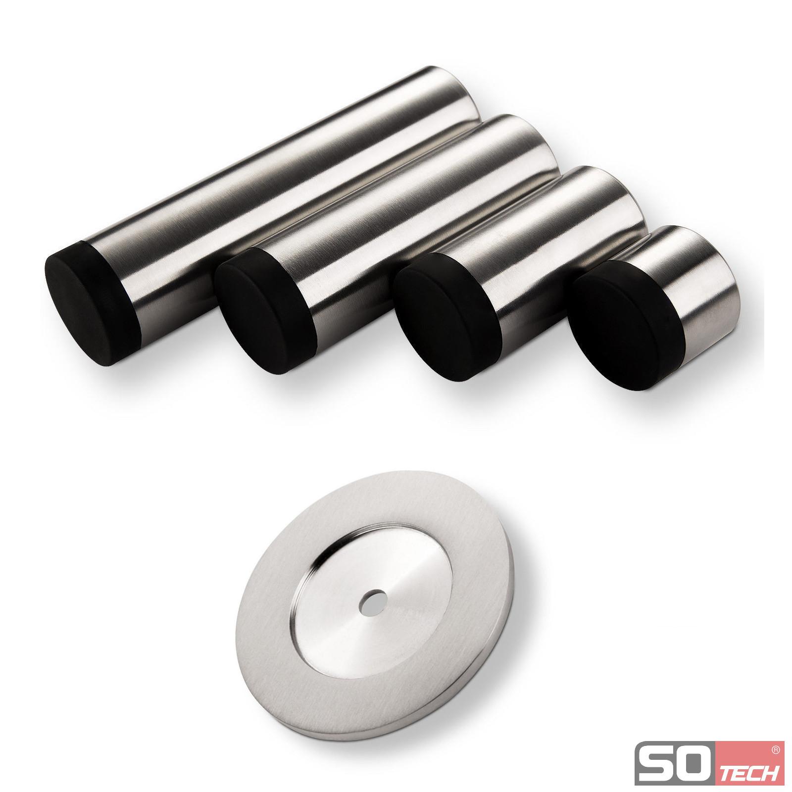 t rstopper topper 30 120 30mm wandabstand 30 120mm edelstahl ebay. Black Bedroom Furniture Sets. Home Design Ideas