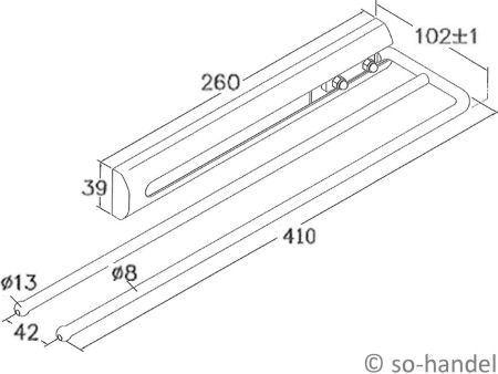 handtuchauszug handtuchhalter handtuchstange wandhandtuchhalter handtuch auszug ebay. Black Bedroom Furniture Sets. Home Design Ideas
