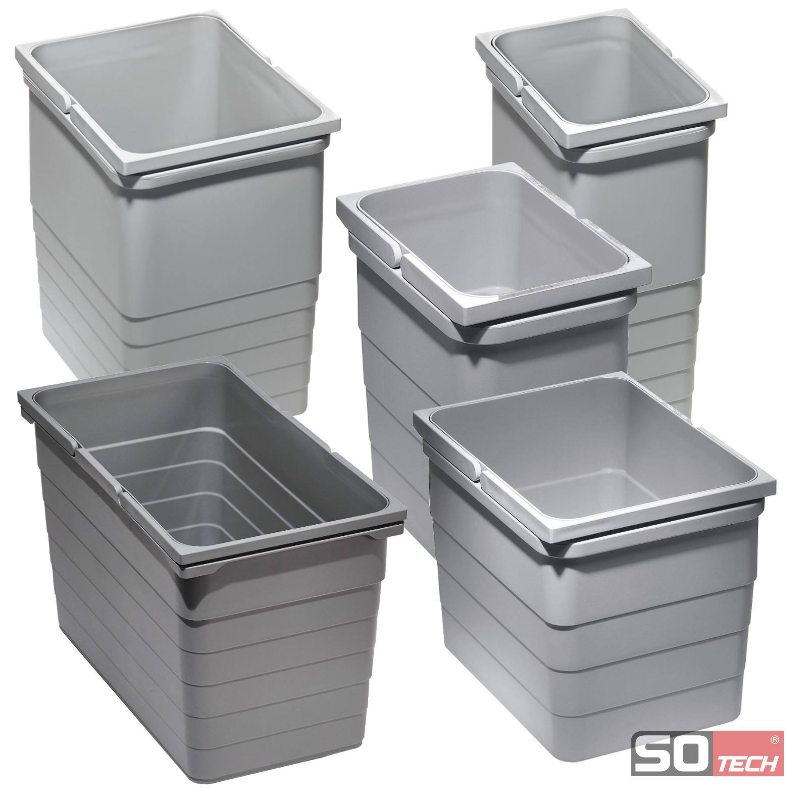SO-TECH® Ninka eins2vier Abfallsammler Mülleimer Abfalleimer Abfalltrenner