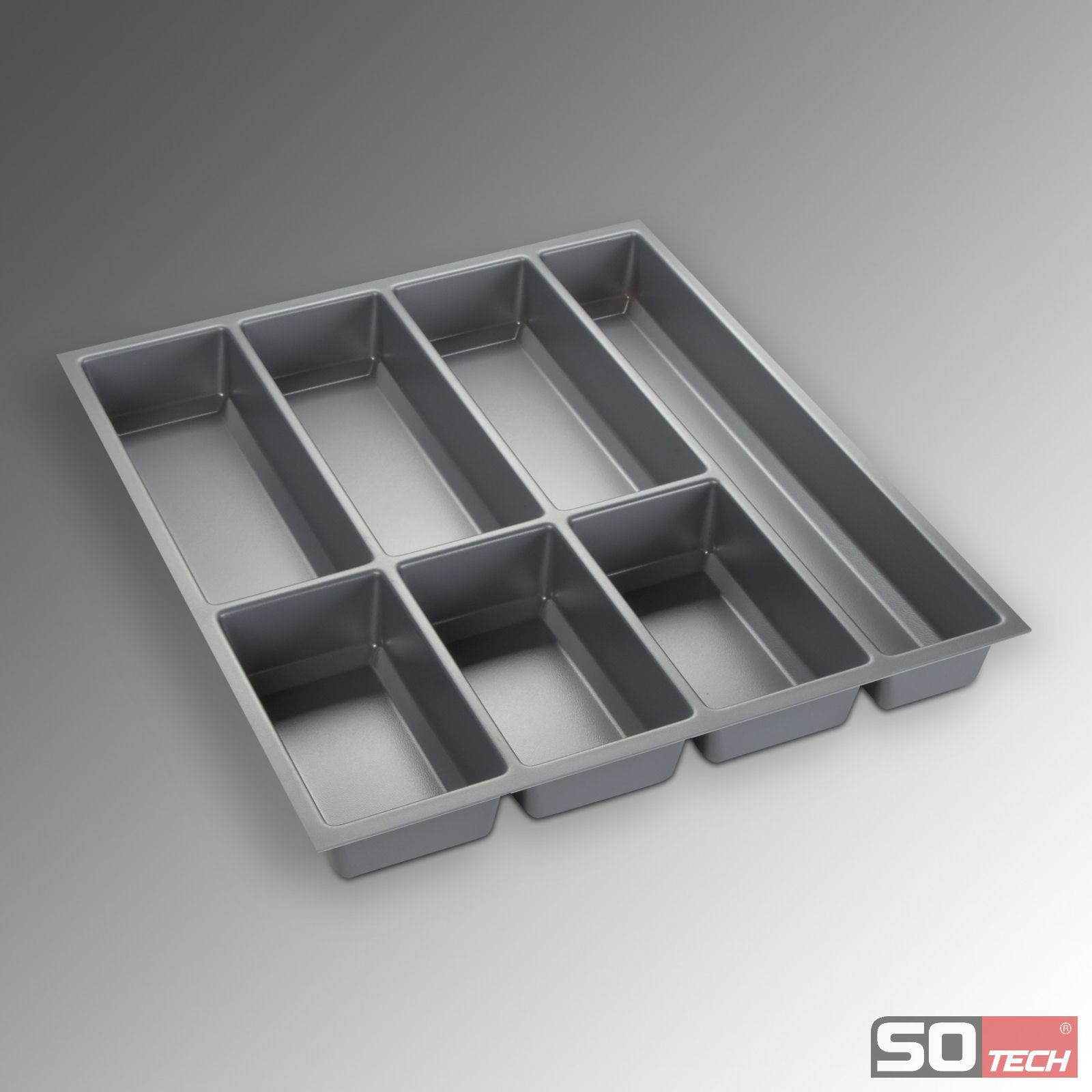Orga box iii besteckeinsatz 50 cm schubladeneinsatz u a for Nobilia schubladeneinsatz