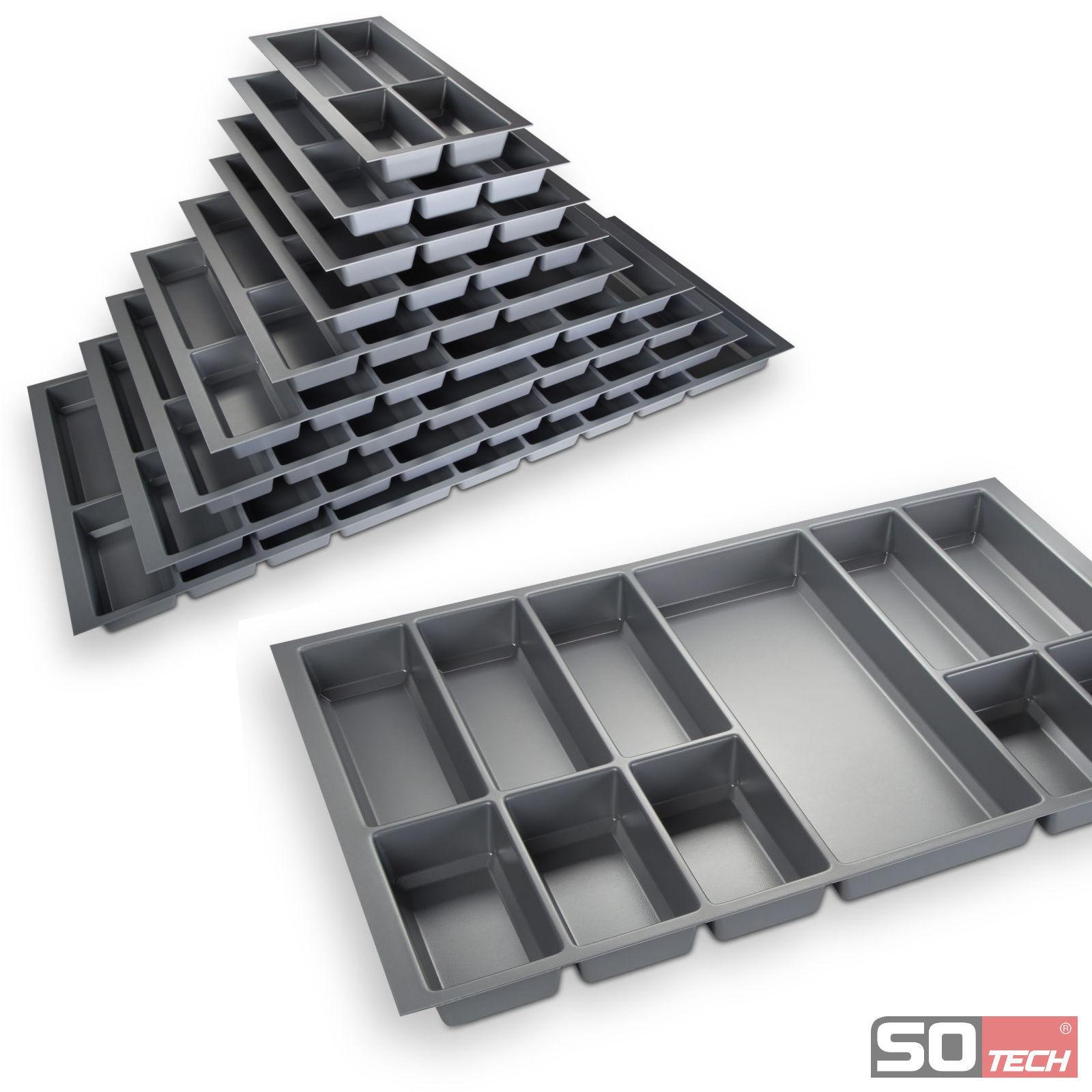 so tech orga box ii besteckeinsatz schubladeneinsatz. Black Bedroom Furniture Sets. Home Design Ideas